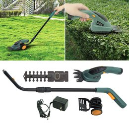 Wholesale Grass Trim - Electric 2-In-1 Grass Shear Hedge Trimmer Cordless 3.6V Lawn Mower Yard Garden