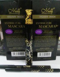 Wholesale Cute Mascara - 2016 new Menow Cute Max Volume Mascara Long Lasting Thick Mascara Eye Black Eyelash Grower Eyelash Lashes Mascara Waterproof Fiber Masca