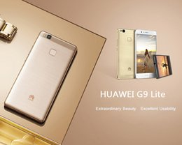 Wholesale G9 Gps - Original Huawei G9 Lite 4G LTE Mobile Phone Kirin 650 Octa Core 3GB RAM 16GB ROM Android 6.0 5.2 inch 13.0MP Smart Cell Phone