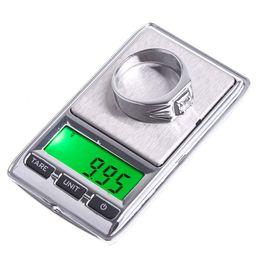 Wholesale Mini Digital Scale Grams - 100gx0.01g 500*0.1g 100g 0.01g Mini Digital Jewelry Pocket Scales Gram & Oz H4577