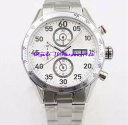Wholesale Calibre 16 Black Dial - Luxury Brand White Dial Limited Calibre Mens Watch New Quality 16 New Mechanical Automatic Mens stainless steet Watches Wristwatch