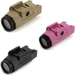 Wholesale Pink Flashlights - Evolution Inforce Auto Pistol Light APL Tactical Flashlight Constant Momentary Flashlight Black Dark Earth Pink