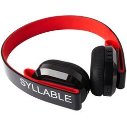 Wholesale Syllable Wireless Bluetooth Headphones - Bluetooth Headset, Syllable G600 HiFi Stereo Headset Noise Cancelling Bluetooth 4.0 Gaming Headset, Wireless Sweatproof headphones with Mic