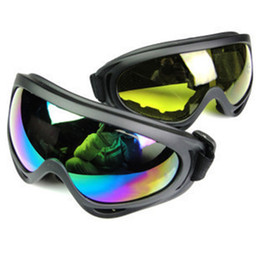 Wholesale Motorcycle Mirror Silver - Men Designer Riding Anti-shock Glasses X400 Outdoor Motorcycle Glasses Windproof Ski Goggles Men and Women Fashion Sunglasses