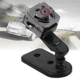 Wholesale outdoor car camera - Super Mini Camera SQ8 Mini Thumb Outdoor DV 1080P HD Car Sports IR Night Vision DVR Video Recorder Portable Camcorder With Box