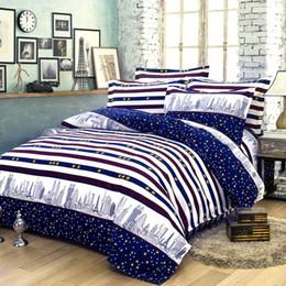 Wholesale Cheap Luxury Bedding Sets - 200*230cm cheap bedding set luxury bedding article Plant cashmere cotton bed sheet   duvet cover   pillowcase 4pcs  set free shipping