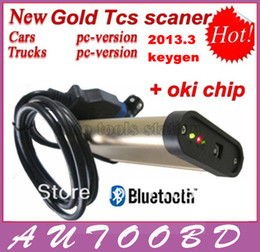 Wholesale M6636b Oki Chip - Newest tcs cdp pro plus 2013.R3 with keygen in CD free activate with bluetooth +m6636b oki chip for Cars&Trucks 2in1 CN freeshipping