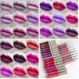 Wholesale Lipstick Colours - 19colors colour pop lip gloss Makeup Color pop Ultra matte Long Lasting Lipsticks Full lips Tatto Waterproof D794