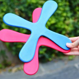 Wholesale Toys Kids Year Old - Safe EVA Dart Flying Boomerang Back Frisbee EVA Leaf Boomerang Dart Back And Forth Popular Indoor Outdoor Sports Toys For Kids