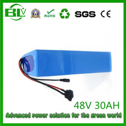Wholesale Electric Scooter Battery Charger 48v - Ebike 48v 30Ah battery for electric bike scooter NO shell for inside sam-sung 26HM lithium battery PVC case BMS 1000w and 2a Charger