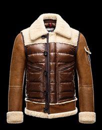 Wholesale leather jacket for short men - M Delacroix Duck Down Jacket 100% Real For Men Parka Winter Warm Fashionable outdoor Lightweight Coat Doudoune Homme