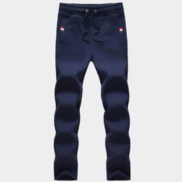 Canettes asiatiques en Ligne-Pantalons hommes de gros-mode 2016 hommes peuvent étirer jogger cordon de serrage pantalon sport style décontracté 3 couleurs taille asiatique: M ~ 5XL