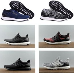 Wholesale Mystery Black - Ultra BOOST Uncaged,Comfortable Ultraboost Running Shoes Top Quality.The lightweight Triple White Black Mystery Red Tech Earth Sneakers
