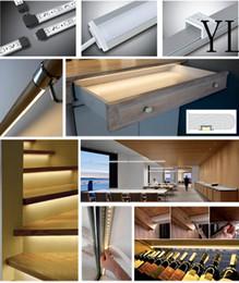 Wholesale Bar Meter - Free Shipping Hot!! 1000mmX25mmX7mm 25pcs lot 1 meters pcs 6000 Series Grade LED aluminium profile for LED Strips and Rigid Bar