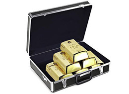 Wholesale Wholesale Gold Bullion Bars - Wholesale Luxury Gold Bullion Wireless Mouse,Creative 2.4Ghz Gold Bar wireless USB Optical gift golden Mice mouse for Tablet Computer Laptop