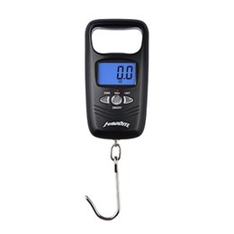 Wholesale Mini Scale Kg - Hot Sale Smart LCD Portable Mini 50KG Electronic Digital Scale Hanging Fishing Hook Pocket KG,OZ,LB,JIN Unit Fishing Scale