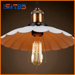 Wholesale Vintage Hanging Light Fixtures - Vintage Pendant Lights Loft Pendant Lamp Retro Hanging Lamp Home Lighting Fixtures Bedroom Dining Pendant Lights