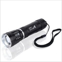Wholesale Torche Ultrafire - Mini Cree Q5 Linterna LED Flashlight 18650 Zoomable 3-Mode Lampe Torche Linterna LED Torch Light Outdoor Lighting Waterproof K31