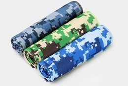 Wholesale Magic Cool Towel Wholesale - Magic Scarves Layer Ice Cooling Towels Sports Icy Cold Chilling Towel Outdoor & Indoor Gym Yoga Activities Home Textiles Reusable For Sports