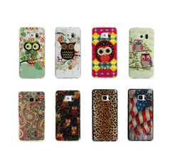 Wholesale Leopard Silicone Iphone Case - For Iphone 7 4.7  Plus 5.5 6 6S Owl UK USA Flag Soft TPU Gel Case Leopard Luxury Cute Family Cartoon Lovely Cover Skin