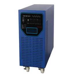 Wholesale Pure Sine Inverter 48v - Rechargeable Power Inverter Charger 6000W 48V 230V with Pure Sine Wave Input  Output, 8 Batteries Type Optional