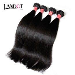 Brezilyalı Düz Bakire Saç Örgü 3 Adet / grup Işlenmemiş Brazillian Düz Saç Demetleri Doğal Renk Boyanabilir Brezilyalı İnsan Saç Atkı cheap dyeable human hair wefts nereden boyanabilir insan saç atkıları tedarikçiler