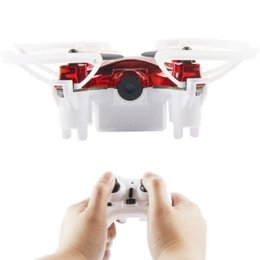 UK uk-uk - RC Quadcopter Transmitter With 0.3MP For L7HW Mini 3D Flip WIFI Real Time Vedio HD Camera RC Aircraft RC Helicopter Toys