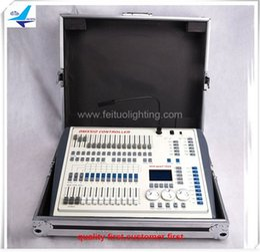 Wholesale Dmx Consoles - DMX 1024 dmx console stage light controller with flight case