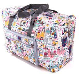 Wholesale Animal Print Duffel Bag - Waterproof Travel Bag Fashion Foldable Nylon Bags Large Capacity Women Totebag Casual Ladies Luggage Weekend Bags Travel Bag 55 bag Bolsa