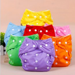 Wholesale Disposable Cloth Diaper Liners - New freeshipping Adjustable Reusable cloth Baby Washable diaper happy flute diapers