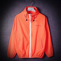 Wholesale Drawstring Jacket - Solid Harajuku Mens Thin Windbreaker Jacket Sport Drawstring Outdoor Male Jacket Sun Protection Clothing Men YEE33556