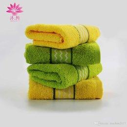 Wholesale Soft Focus - muchun Brand 6 pcs set Color Focus Jacquard Weaving Face Towel 100% Natural Cotton Soft Washrag