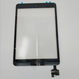 2019 dh inch tablet Neuer Ersatz für iPad Mini-Digitizer mit IC Connectore-Home-Button Flex-Ersatz für iPad Mini / Mini 2 Touchscreen