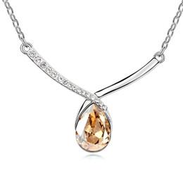 Wholesale Rain Necklace - Austrian crystal necklace - Love Rain-colours