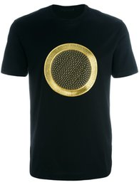 Wholesale Men Shirt Fabric - Medusa embroidery T Shirt Men Summer New 100% Pure Cotton Fabric Slim Fit Letter High Quality Print Male Fashion Tops Male