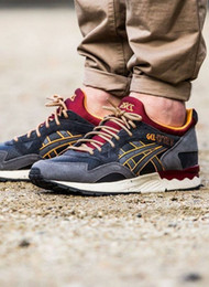 Wholesale Cheap Tennis Shoes Online - Whosale 2016 Best Asics Gel-Lyte V Men Shoes Running Shoes High Quality Cheap Training Lightweight Online Retro Basketball Shoes Eur 36-45