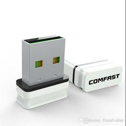 Wholesale Wireless Adapter Wifi Nano - COMFAST CF-WU810N V2.0 RTL8188EUS RTL8188 150Mbps 802.11n g b USB WIFI Wireless Nano MINI SMALLEST Adapter Adaptor AA15