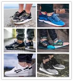 Wholesale Running Gifts - 2016 Free shipping GEL V 5 Casual Shoes Men Lover gift Black Green Tan lyte iii 3 Sports Running Sneakers Retro 11 Outdoor Walking Shoes