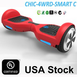 Wholesale Usa Wheels Self - IO CHIC UL 2272 Hoverboard USA Stock Smart Scooter Electric Scooters Skateboards Drifting Hover Board CE ROHS FCC UL Self Balancing Scooter