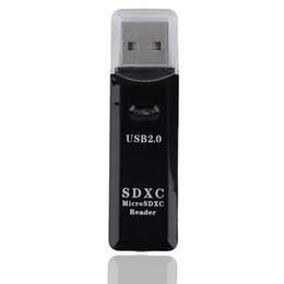 2019 connecteur de mini carte CF-336 Adaptateur de lecteur de carte mémoire SDXC TF T-Flash USB 2.0 3.0 haut débit 2 en 1 pour SD / pour SDHC / pour SDXCMMC / pour MMC2 / pour RS MMC / MMC 4.0