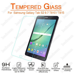 Wholesale galaxy s2 screen protectors - 30PCS Screen Protector Tempered Glass for Samsung Galaxy Tab S2 T710 T810 Tab Active T360 No Package
