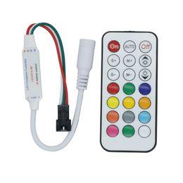 Edison2011 Nouveau contrôleur 21 Contrôleur infrarouge pour Led Strip WS2811 WS2812B Module Pixel Light DC5V-24V Armoire de commande Livraison gratuite ? partir de fabricateur
