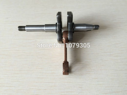 Wholesale Forge Fitting - Crankshaft assembly forging steel fits Zenoah G2500 2500 free shipping new crank shaft cheap chainsaw OEM part# 2841-42001