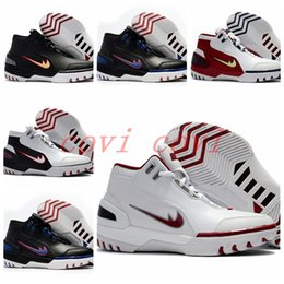 Wholesale New Generation Sports - 2017 New Limited Retro LB James 1 Generation Classic Basketball Shoes For Men High Quality Sports LBJ Basket Ball Sneakers Trainers US 7-12
