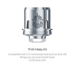 Wholesale Smoktech E Cig - Authentic smok tfv8 x-baby coils head V8 X-Baby m2 q2 x4 t6 rba core for smoktech TFV8 X-Baby tank e cig vaporizer