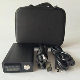 В наличии дешевые электронные ногтей комплект электронных Dabber Dab черный молния Case Kit PID коробка контроля температуры комплект катушки нагреватель 100 Вт 110 В 220 В от Поставщики электронный гвоздь для мазка