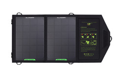 Wholesale Portable Device Chargers - Solar Charger Mat Portable Power Bank 5V8W Foldable Battery Chargers Panel Outdoor Partner For Cellphone, Tablets and Other Compact Devices