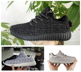 Wholesale Sheos Man - Designer 350 Boost Pirate Black Moonrock Kanye West Running Shoes New Fashion Men Sports Sheos Hot Sale Online With Box