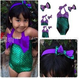 Wholesale Korean Kids Swimming - .Kids Swimwear 2016 New Korean Baby Girls Bikini Kids Girl Swimwear Baby Swimsuit Ruffle Bow Princess Three Pieces Swim Cute Clothing BB-341