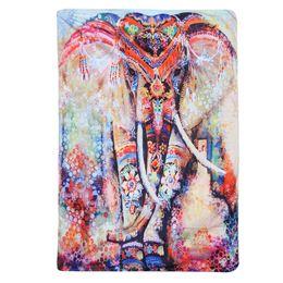 Boho couvre-lits en Ligne-Mandala Indien Tapisserie Hippie Tenture murale Tapisseries Boho Couvre-Lit Serviette De Plage Tapis De Yoga Couverture Table Cloth130x150 / 148x210cm
